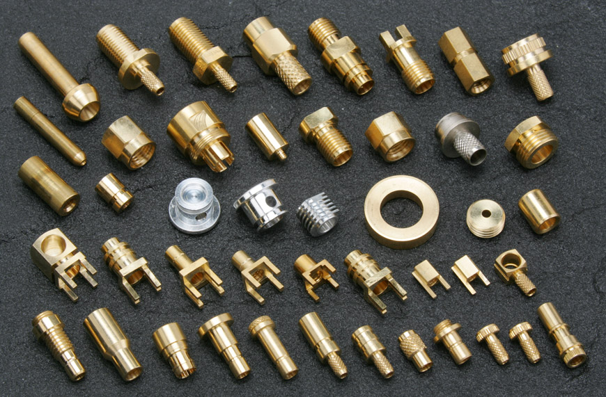 RF Connector CNC Turning Outsourcing Services