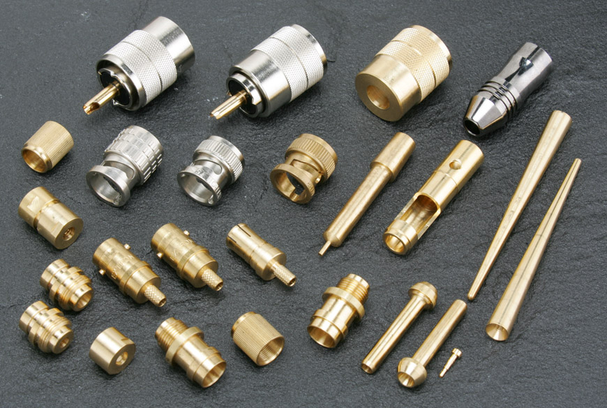 Antenna connector and Antenna Parts CNC Turning Outsourcing Services