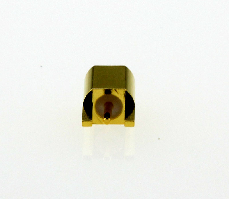 MMCX Jack Female Straight Edge Card Mount Coaxial Connector 50 ohms Back