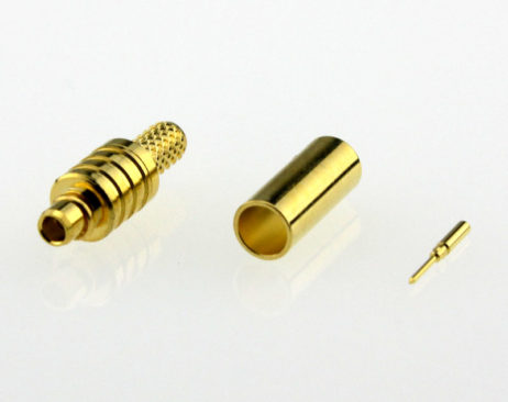 MMCX Plug Male Straight Coaxial Connector 50 ohms for RG-174 / U,316 / U,LMR-100 Cable