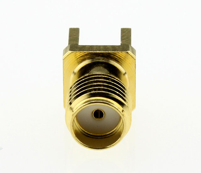 SMA Jack Female Straight PCB Coaxial Connector 50 ohms SMA6251A1 GTG 50 Above